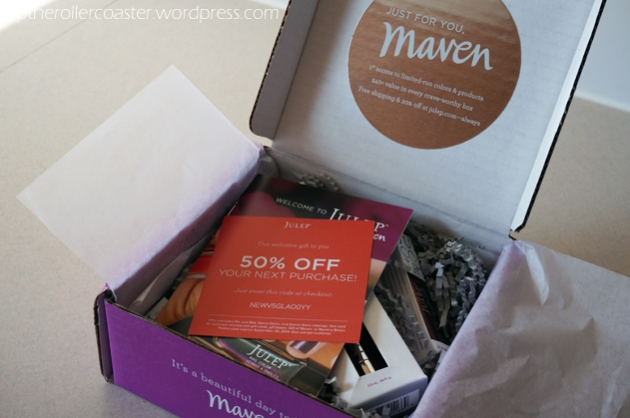 Up the Rollercoaster | Julep Maven Unboxing Summer 2014 Welcome Box