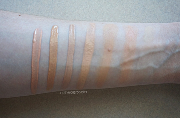 Swatches (left to right):