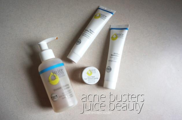Acne Busters: Juice Beauty Organics to Clear Skin