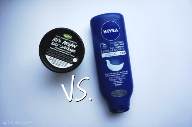 Nivea vs. LUSH