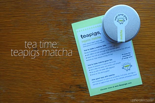 Tea Time: Teapigs Matcha