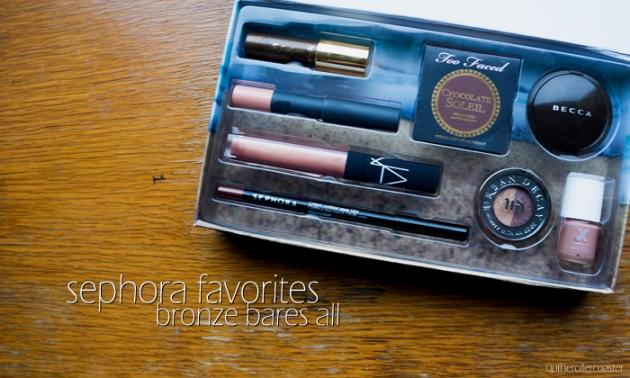 Sephora Favorites: Bronze Bares All