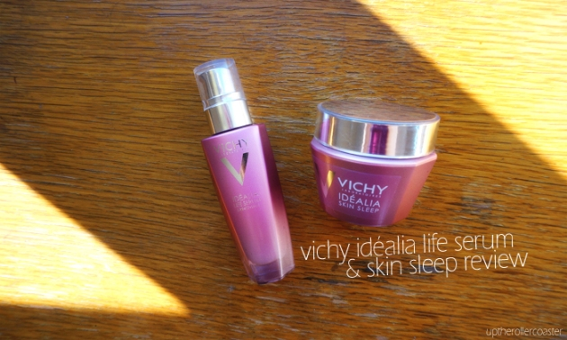 #VichyWorksforMe Idealia Life Serum & Skin Sleep Review