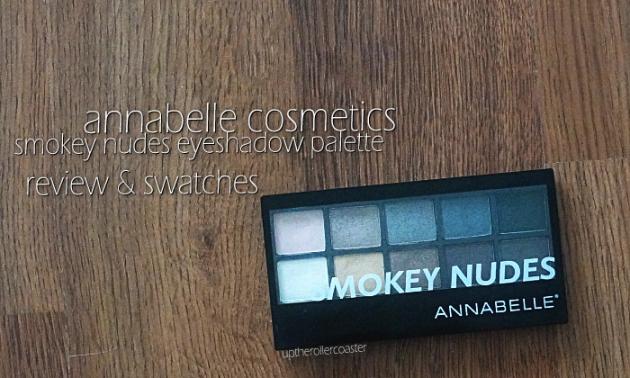Annabelle Cosmetics Smokey Nudes Eyeshadow Palette