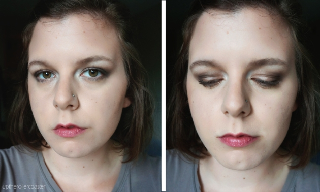 Annabelle Smokey Nudes Eyeshadow Palette - Day Look