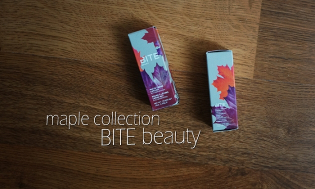 BITE Beauty Maple Collection