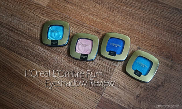 L'Oreal Paris L'Ombre Pure Eyeshadows