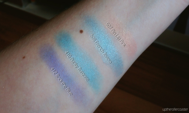 L'Oreal Paris L'Ombre Pure Eyeshadow Swatches