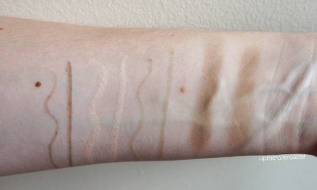 Annabelle Cosmetics Autumn 2015 Eyebrow Launches: Swatches
