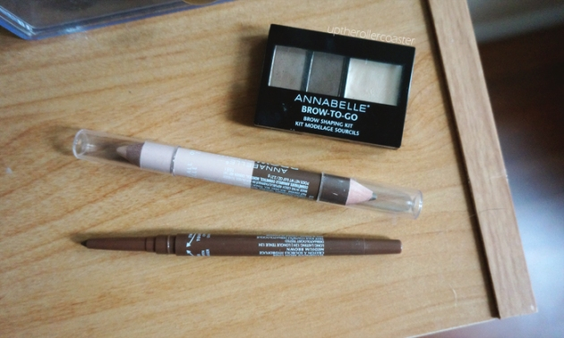 Annabelle Cosmetics Autumn 2015 Eyebrow Launches