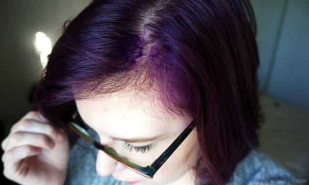 Going Purple with Splat Hair Dye