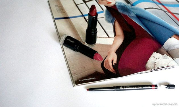 Arbonne Smoothed Over Lipsticks & Lip Liner Review & Swatches