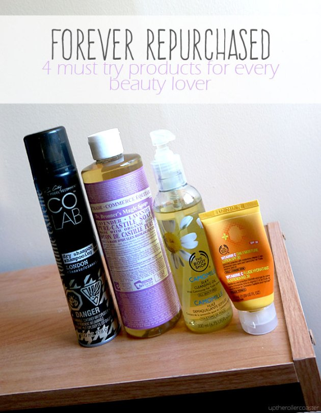 I will always repurchase these four beauty products!