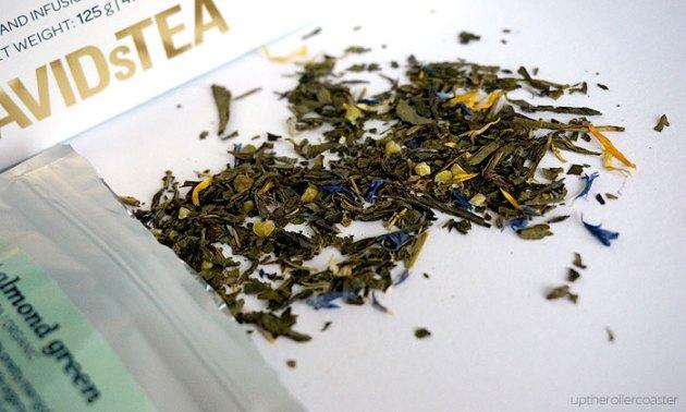 David's Tea Sweet Almond Green