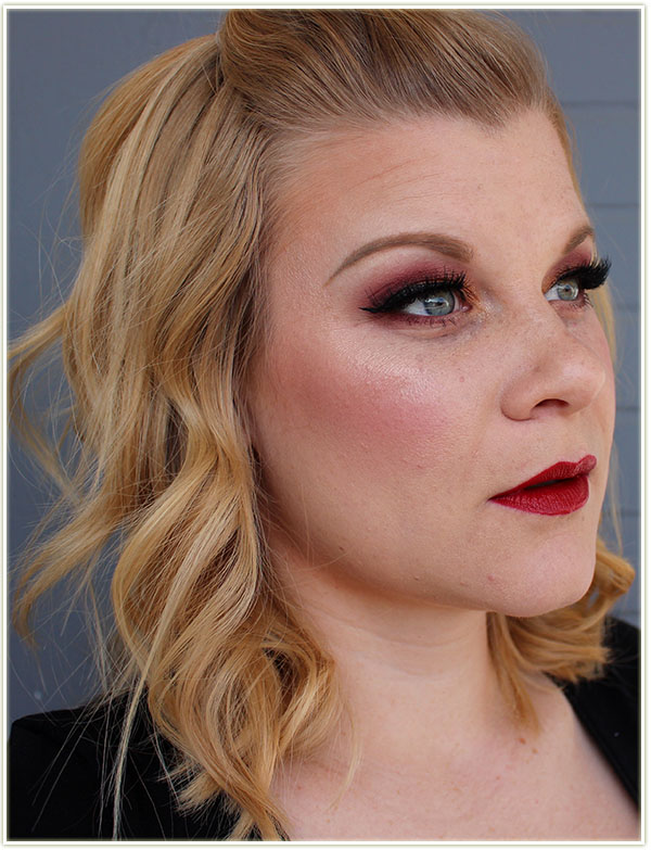 Holiday Makeup Look with Chelle