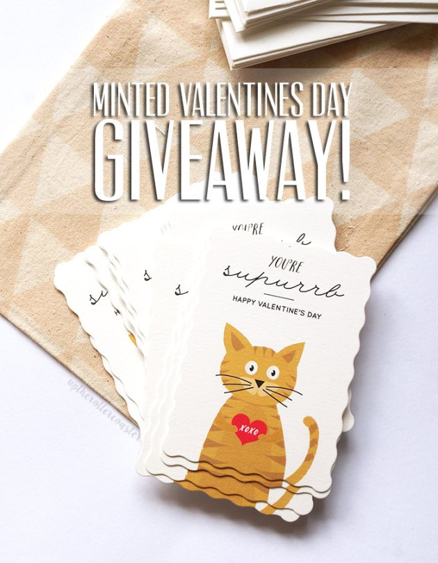 Minted Valentines Cards + Giveaway