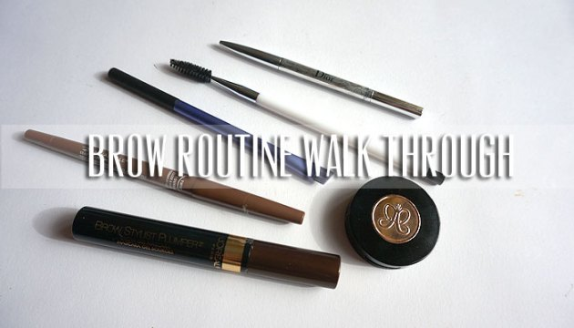 A Brow For Every Occassion (Brow Routine) | uptherollercoaster.com