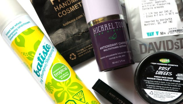 February Empties & Tosses 2016 | uptherollercoaster.com