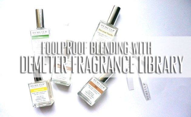 Foolproof Blending with Demeter Fragrance Library