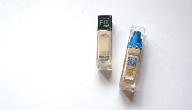 Maybelline Fit Me vs Better Skin   uptherollercoaster.com