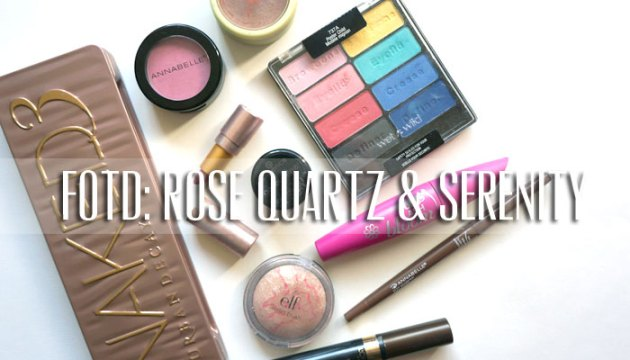 Pantone Color of the Year: Rose Quartz and Serenity FotD   uptherollrecoaster.com