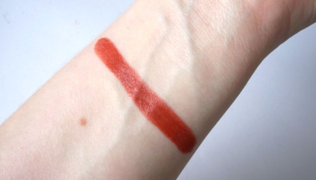 Red Apple Lipstick Firecracker Swatch | uptherollercoaster.com