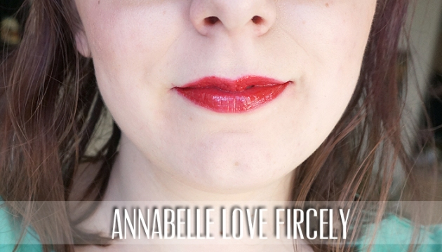 Annabelle Cosmetics Big Show Lacquers | Love Fiercely | uptherollercoaster.com