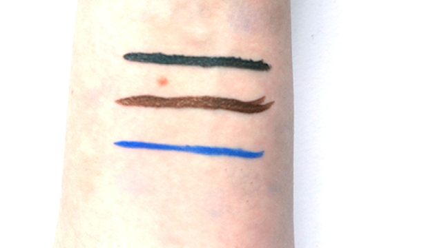 Annabelle Cosmetics Waterproof Liquid Eyeliners swatches | uptherollercoaster.com