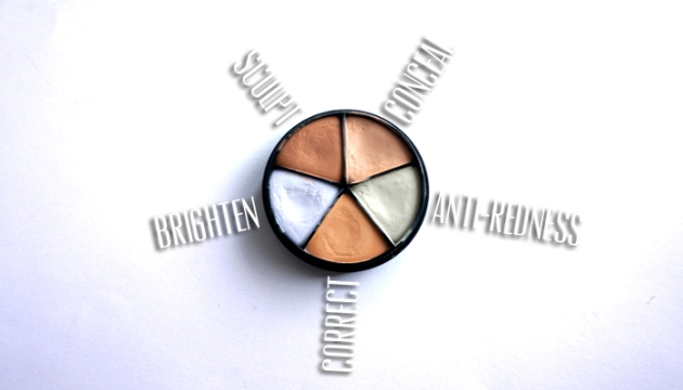 Color Correcing the with Lise Watier Concealer Wheel | uptherollercoaster.com