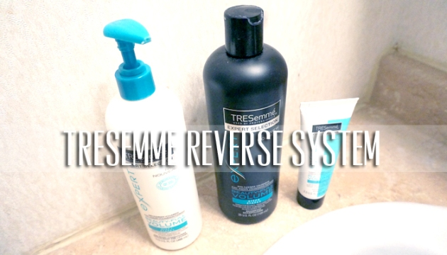 TRESemme Beauty-Full Volume Reverse Wash System | uptherollercoaster.com