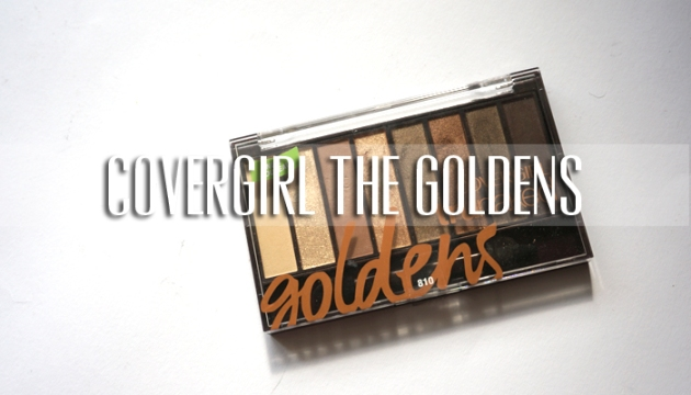 Covergirl TruNaked The Goldens Eyeshadow Palette