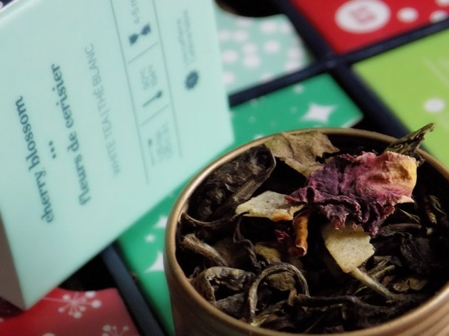 Davids Tea Cherry Blossom | uptherollercoaster.com