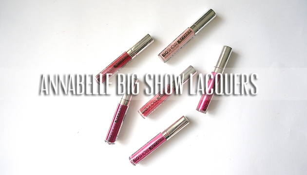 Annabelle Cosmetics Big Show Lacquers