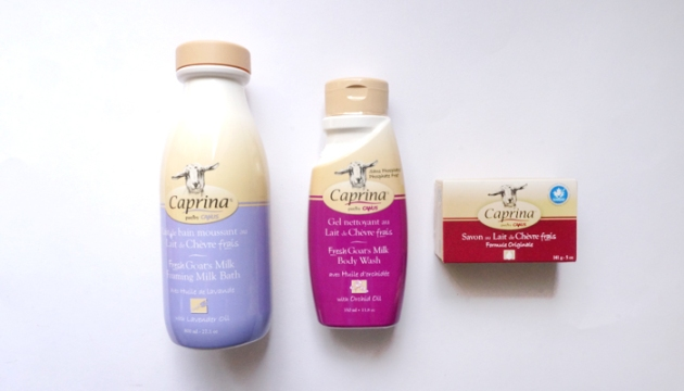 Caprina Goats Milk Soap and Bath
