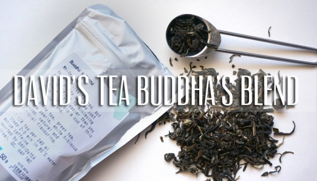 David's Tea Buddha's Blend Review | uptherollercoaster.com