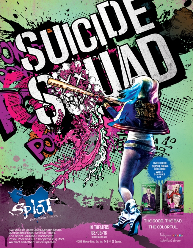 Splat Hair Dye x Suicide Squad Giveaway | uptherollercoaster.com