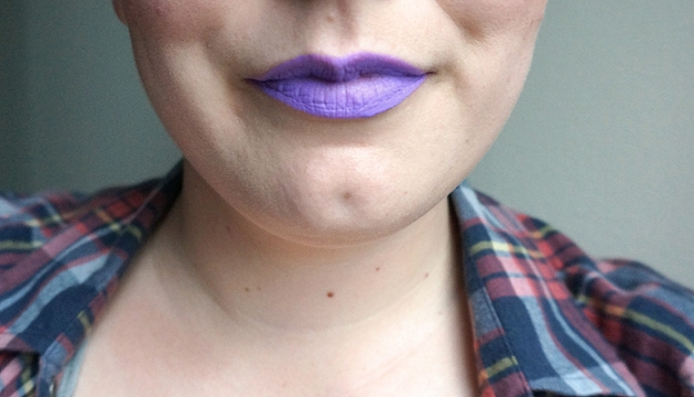 NYX Liquid Suede Cream Lipstick in Sway - Lip Swatch | uptherollercoaster.com