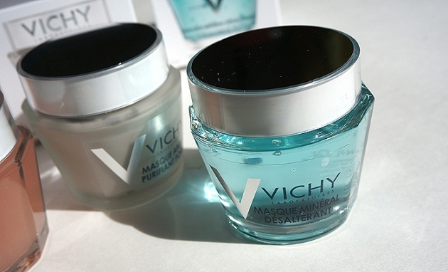 Vichy Mineral Masks: Quenching Mineral Mask | uptherollercoaster.com
