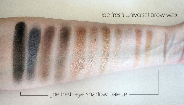 Joe Fresh Fall 2016 Collection: Swatches