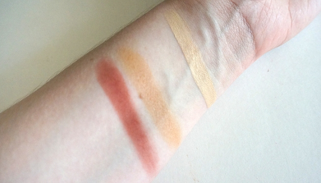 Maison Jacynthe Blush, Highlight and Concealer Swatches | uptherollercoaster.com