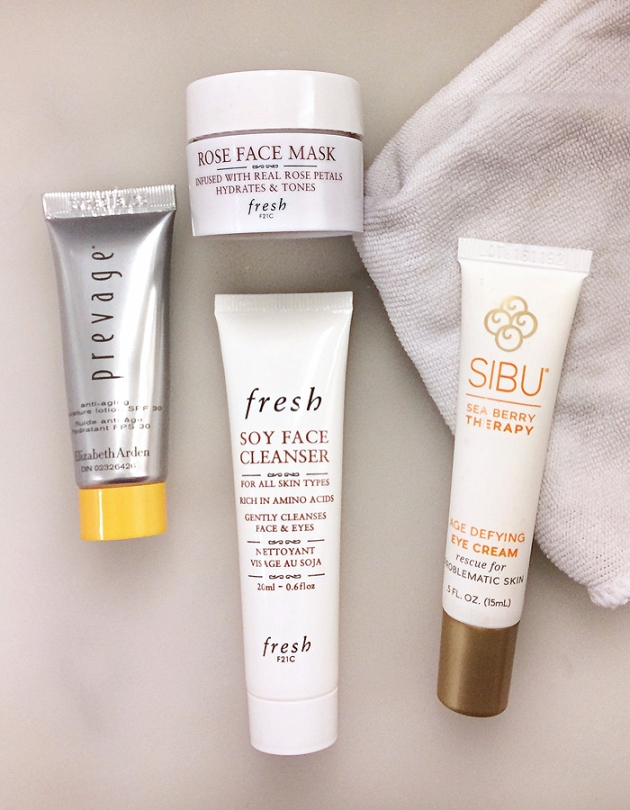What's In My Travel Makeup Bag? Skincare!