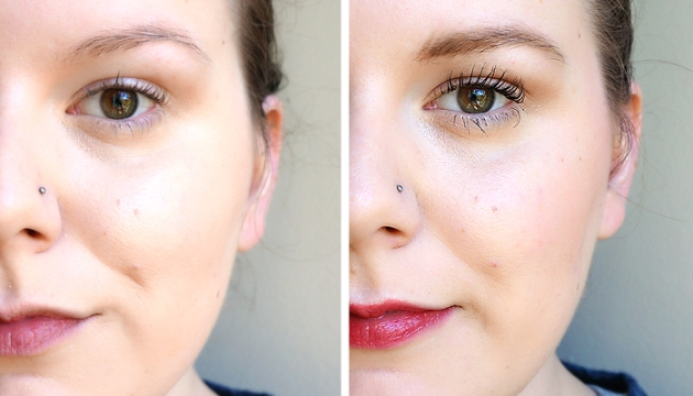 Vichy Teint Ideal Makeup - Before and After