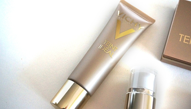 Vichy Teint Ideal Cream Foundation in 15 Ivory | uptherollercoaster.com