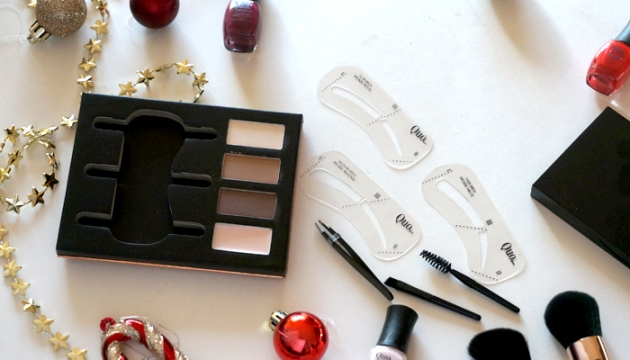 Quo Cosmetics Holiday Collection Brow Beauty Eyebrow Palette
